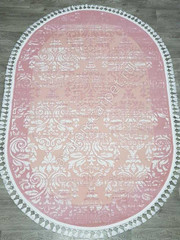 Ковер 36177A OVAL PINK / PINK