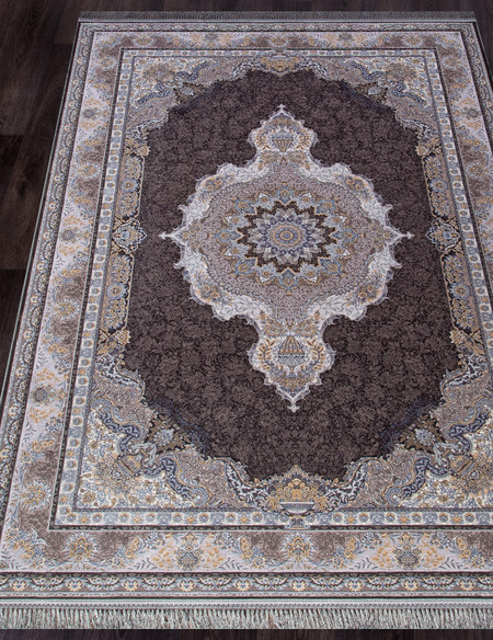 Ковер farsi-1200-g252-dark-gray-stan - фото
